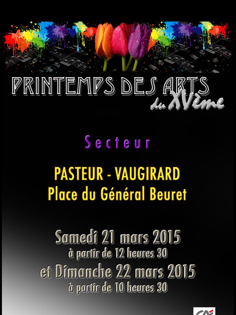 flyer printemps des arts